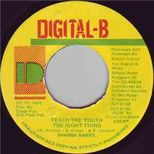 Shabba Ranks - Teach The Youth The Right Thing album