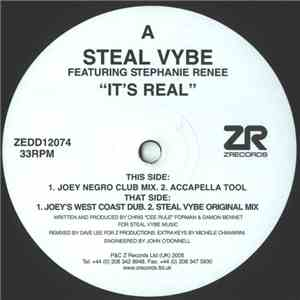 Steal Vybe - It's Real album