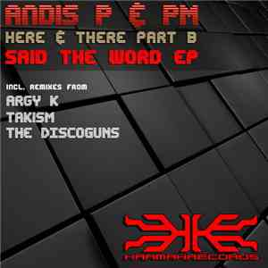 Andis P & PM  - Here & There Part B - Said The Word EP album