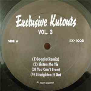 Various - Exclusive Kutouts Vol.3 album