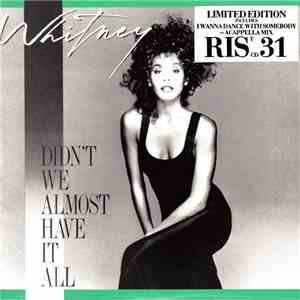 Whitney Houston - Didn't We Almost Have It All album