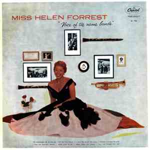Miss Helen Forrest - Voice Of The Name Bands album