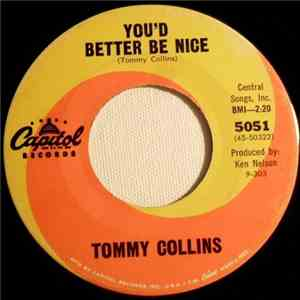 Tommy Collins / Tommy Collins And Wanda Collins - You'd Better Be Nice / I Can Do That album